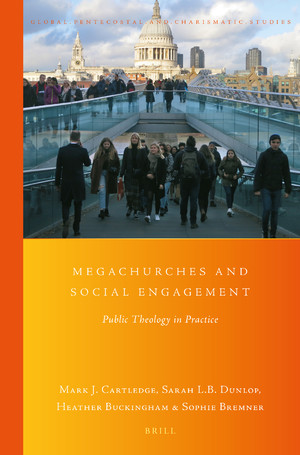 Megachurches and Social Engagement book cover